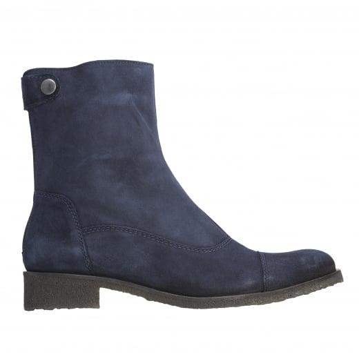 LBDK Suede Boots - Marino Blue