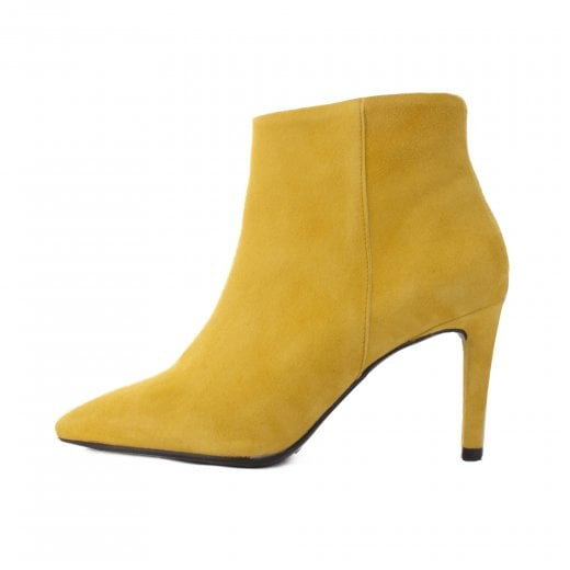 LBDK Yellow Suede Boots
