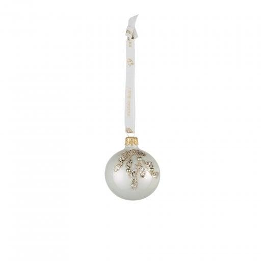 Lene Bjerre Cadelia Christmas Bauble - White