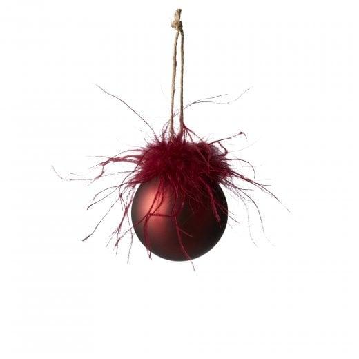 Lene Bjerre Fethia Glass Bauble - Pomegranate