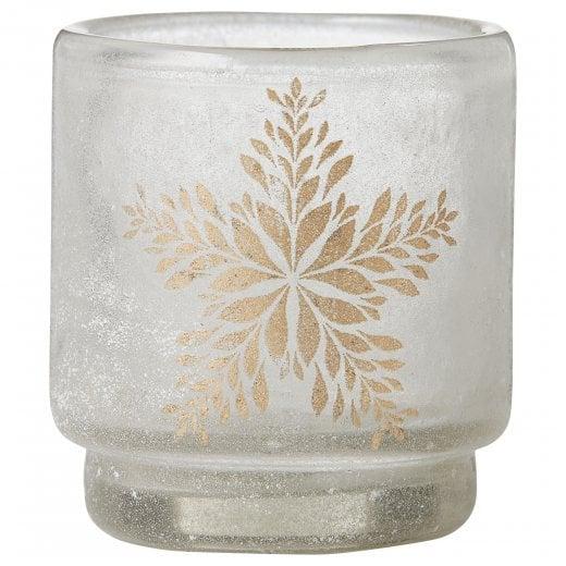 Lene Bjerre Frostine Candle Holder - White