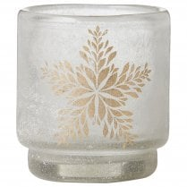 Lene Bjerre Frostine Candle Holder - White