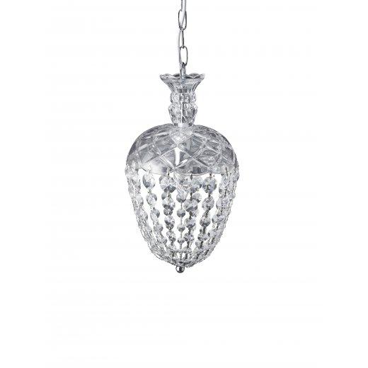 Lene Bjerre Glass Chandelier medium CRYSTALINE H36cm
