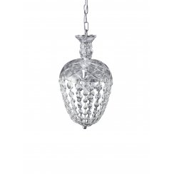 Lene Bjerre Glass Chandelier medium CRYSTALINE H36cm