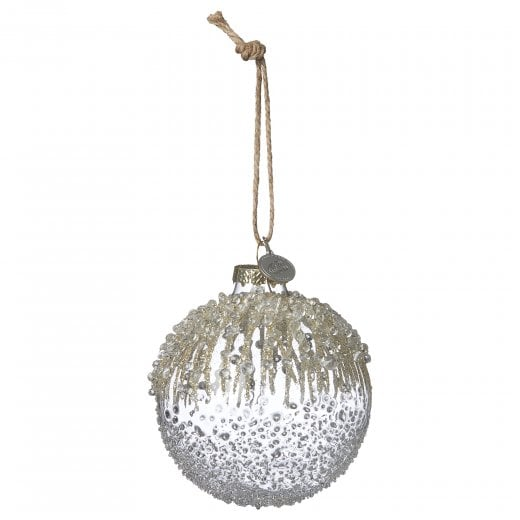 Lene Bjerre Millia Glass Bauble - Light Gold