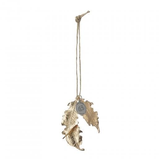 Lene Bjerre Nordic Iron Leaf - Light Gold