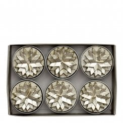 Lene Bjerre Nordic Tealight Candles - Light Gold