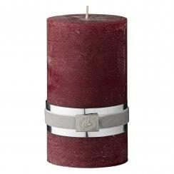 Lene Bjerre Rustic Candle Medium - Pomegranate  H12.5cm