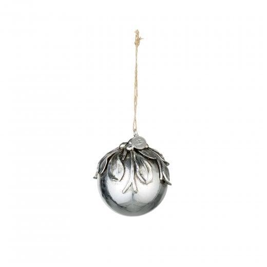 Lene Bjerre Serafina Polyresin Bauble - Silver