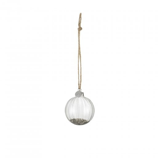 Lene Bjerre Small Meryse Glass Bauble - Clear