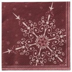 Lene Bjerre Starina Paper Napkins - Pomegranate