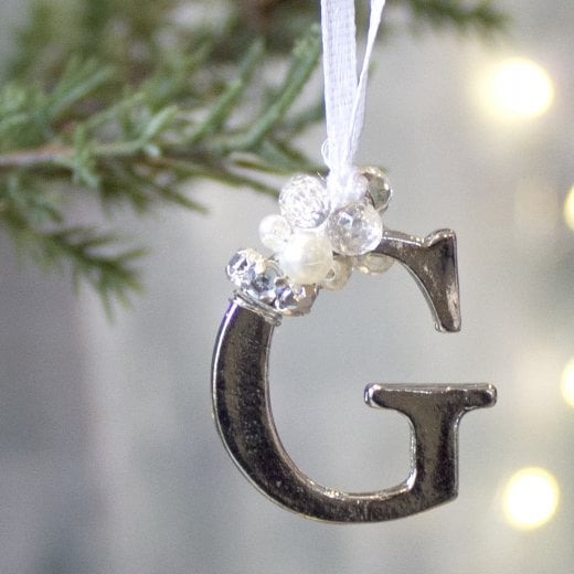 Letter G - Polished Metal