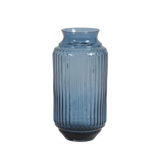 Danish Collection Blue Glass Vase