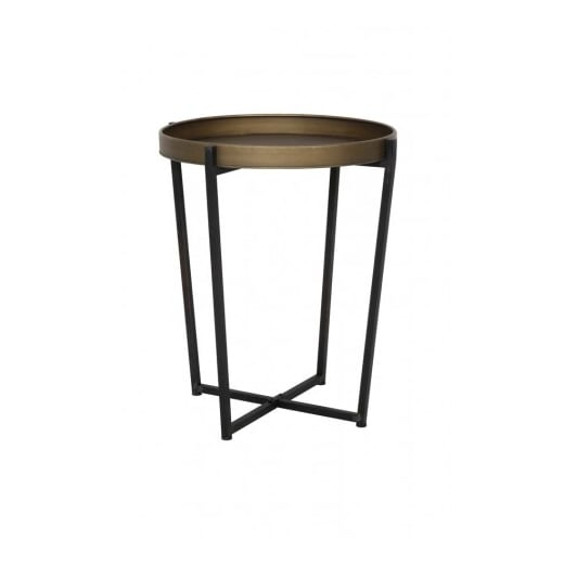Danish Collection Bronze Side Table