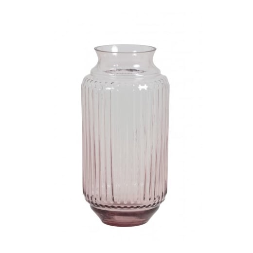 Danish Collection Pink Glass Vase