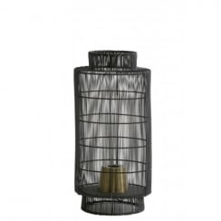 Light and Living Table Lamp Lantern