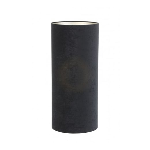 Danish Collection Velour Black and Taupe Lamp Shade