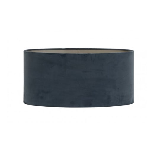 Danish Collection Velour Dusty Blue Lamp Shade