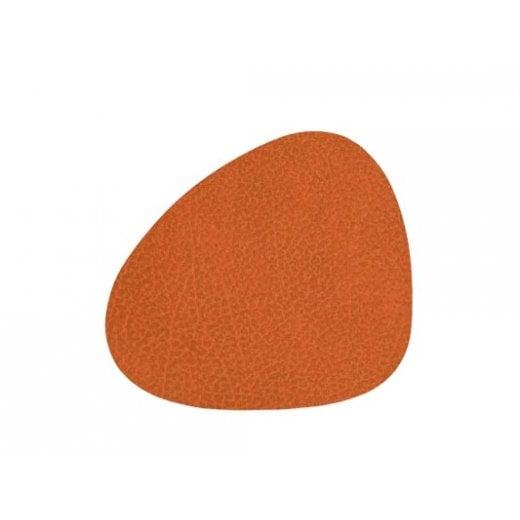 LindDNA Curve Hippo Glass Mat - Orange