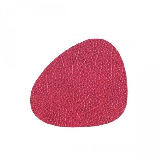 LindDNA Curve Hippo Glass Mat - Raspberry