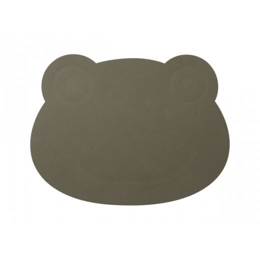 LindDNA Frog Nupo Table Mat - Army Green