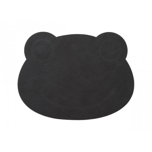 LindDNA Frog Nupo Table Mat - Black
