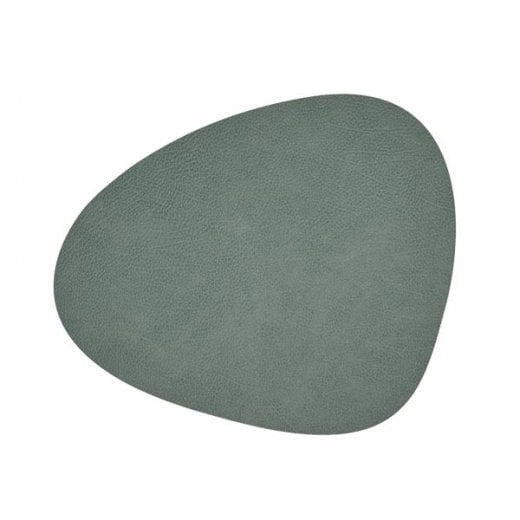 LindDNA Large Curve Hippo Table Mat - Pastel Green
