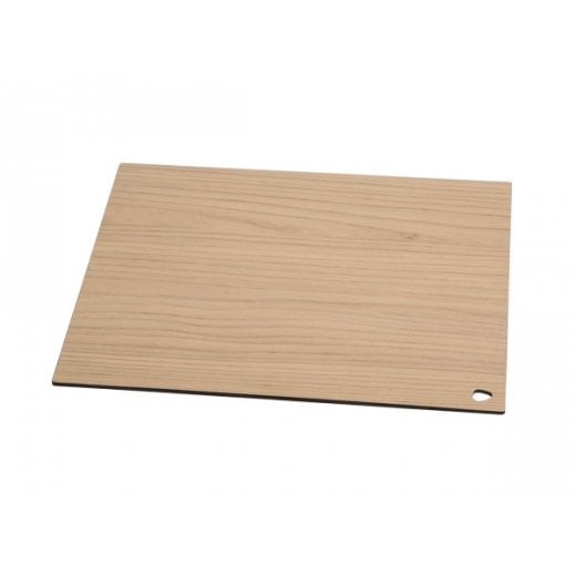 LindDNA Large Square Cut & Serve - Laminate Ash