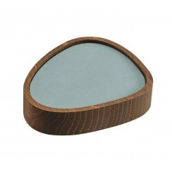 LindDNA Lind DNA Smoked Oak Curve Wooden Box For Coasters