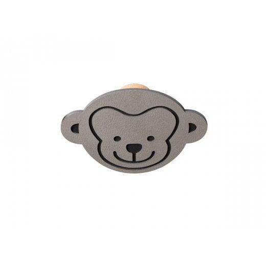 LindDNA Monkey Nupo Dot - Light Grey/Brown
