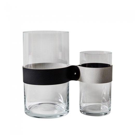 LindDNA Next To You Vase - Black/Metallic