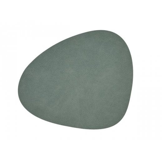 LindDNA Small Curve Hippo Table Mat - Pastel Green