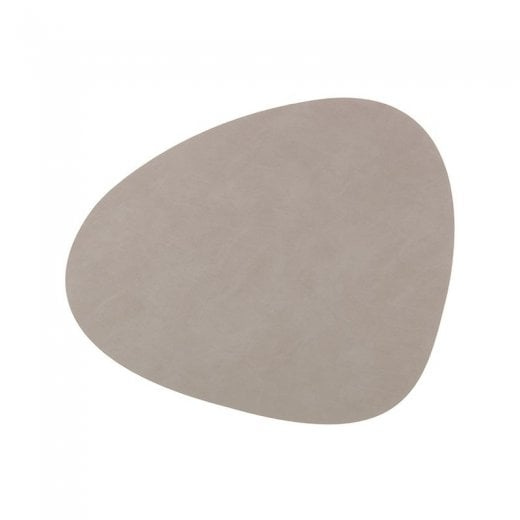 LindDNA Small Curve Nupo Table Mat - Light Grey