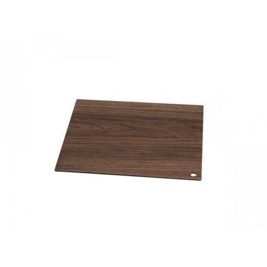 LindDNA Small Square Cut & Serve - Laminate Walnut