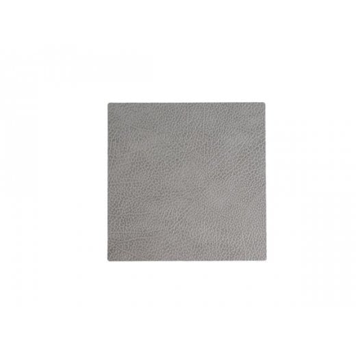 LindDNA Square Hippo Glass Mat - Anthracite-grey