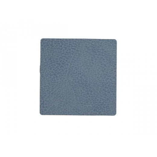 LindDNA Square Hippo Glass Mat - Light Blue