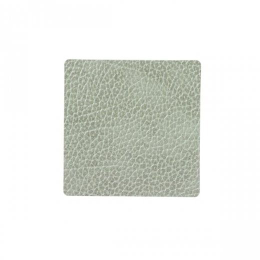 LindDNA Square Hippo Glass Mat - Olive Green