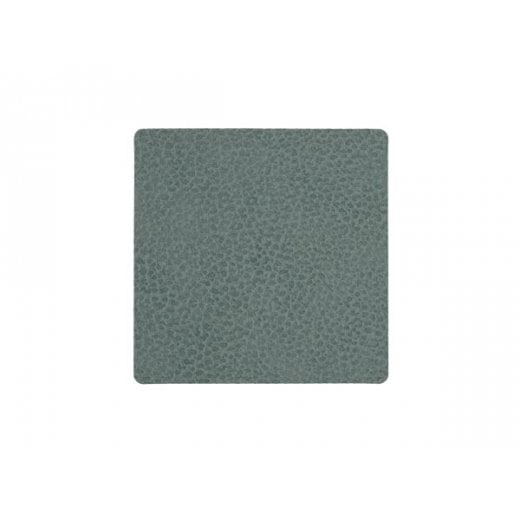 LindDNA Square Hippo Glass Mat - Pastel Green