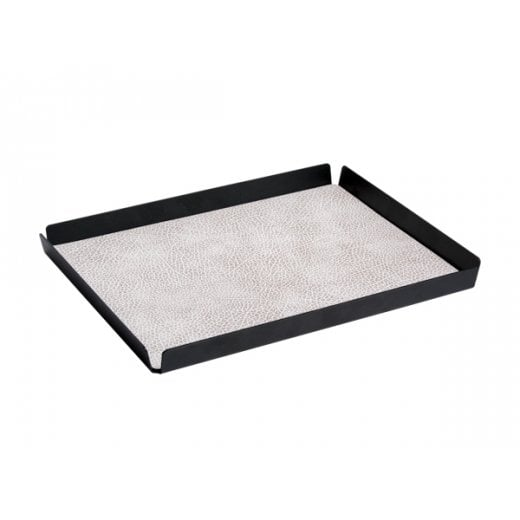 LindDNA Tray Hippo Large Square - White-grey/Anthracite