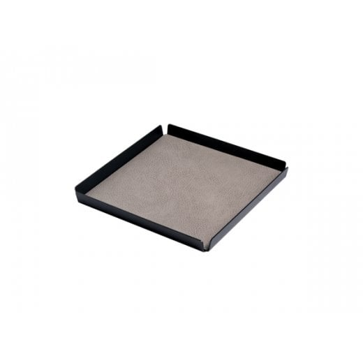 LindDNA Tray Hippo Small Square - Anthracite-grey/Anthracite