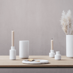 Lyngby Porcelain Lyngby Candle Holder - H7cm