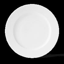 Lyngby Porcelain Lyngby Rhombe White Dinner Plate - D27cm