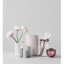 Lyngby Porcelain Lyngby Vase Light Grey - H15cm