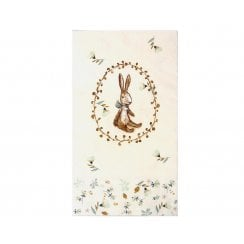 Maileg Bunny Napkin - White