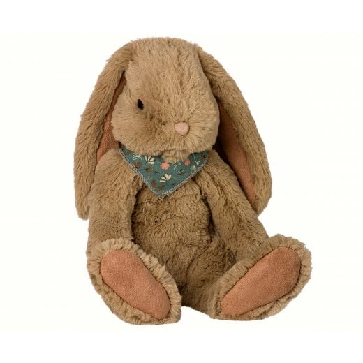 Maileg Large Fluffy Bunny - Dusty Brown