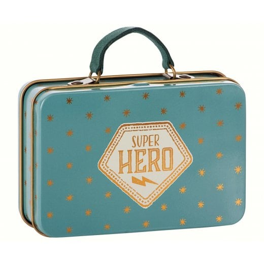 Maileg Metal Suitcase - Gold Stars