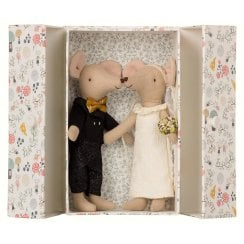 Maileg Mice in Box - Wedding Couple