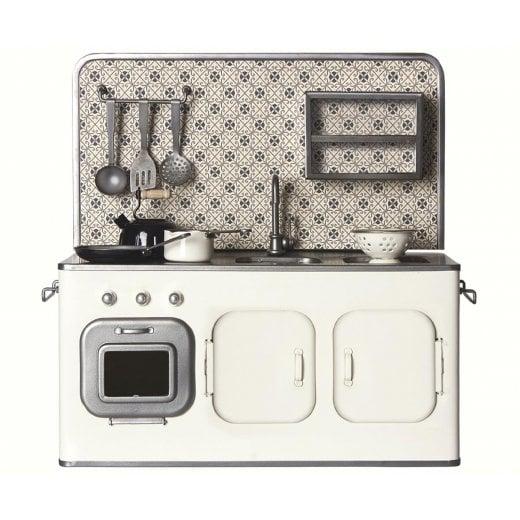 Maileg Mini Kitchen Unit - Off White