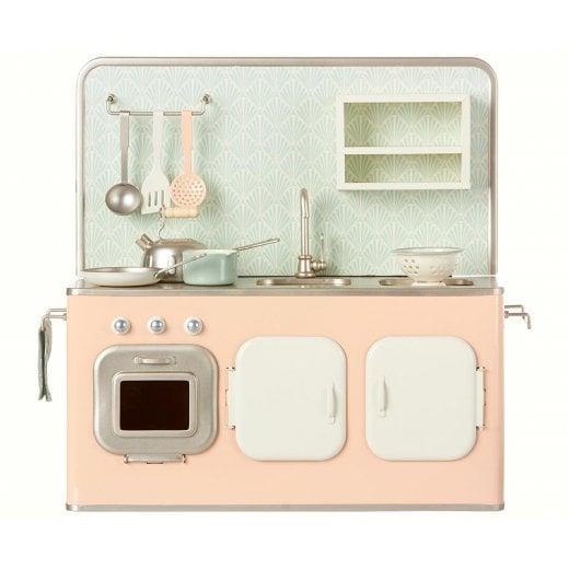 Maileg Mini Kitchen Unit - Powder Pink