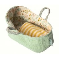 Maileg MY Carry Cot - Mint